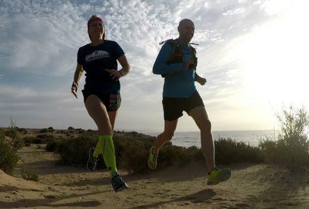 Beispiel Trailrunning. Alternativen sind Marathon, Trail, Ultra laufen oder Triathlon.