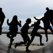 community, druck, lauftreff, running
