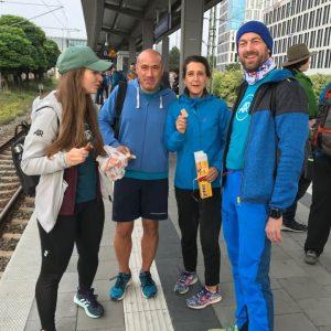 Schuster-Tegernseelauf 2017, Adidas Runners Munich, Raceday, Support