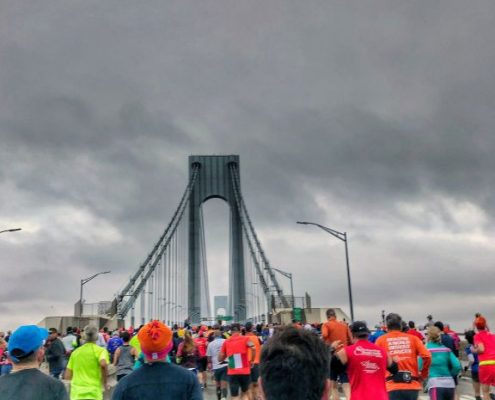 New York City Marathon, Verrazano-Narrows Bridge