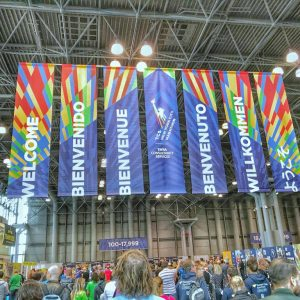 New-York-City-Marathon, Lultras, PreRace 2017, Marathon-Messe, Exhibition, Willkommen