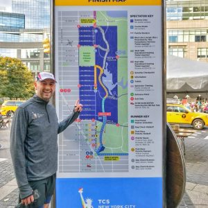 New-York-City-Marathon, Lultras, PreRace 2017, Marathon-Messe, Exhibition, Race-Map