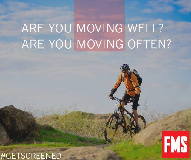 Radfahrer und die FMS-Standardfrage: Bewegst du dich gesund oder oft?