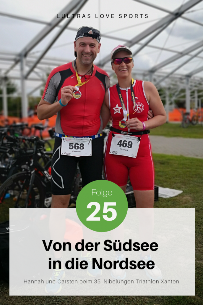 Folge 25 // LULTRAS love sports // Der Ausdauerpodcast mit Hannah und Carsten