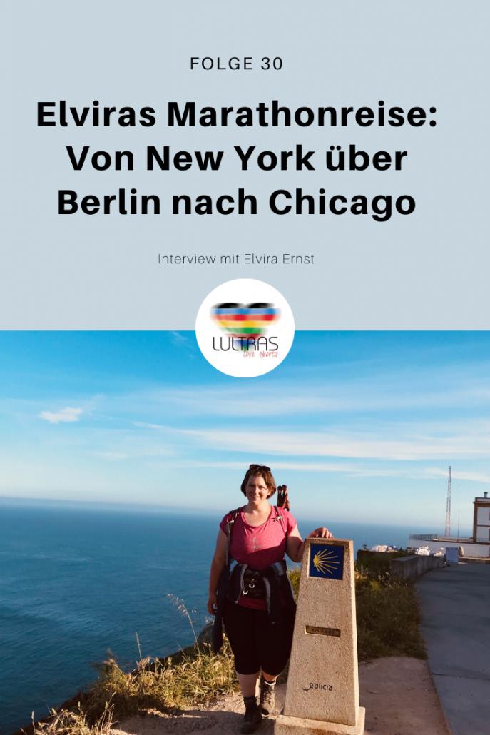 Elviras Marathonreise - Von New York über Berlin nach Chicago